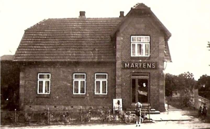 EDEKA Martens - Geschichte - das erste Geschäft